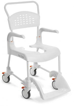 """clean כסא רחצה ושירותים קלין 49 ס""""מ גובה מהקרקע"""