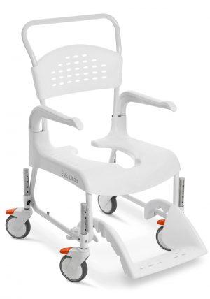 כסא רחצה ושירותים מתכוונן בגובה קלין טלסקופי Clean height adjustable