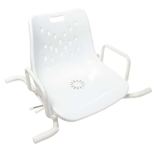 מושב מסתובב לאמבטיה עם משענת גב BEN Swiveling Bath Seat