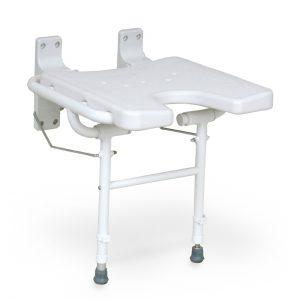 מושב למקלחת מתקפל לקיר DKS 130 Folding Shower Chair