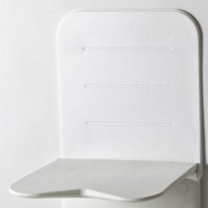 גב מרופד לקיר למושב מתקפל למקלחת Etac Relax