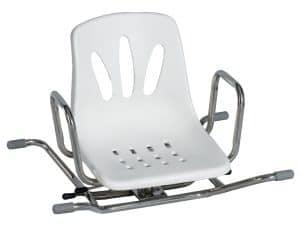 כסא מסתובב לאמבטיה עם משענת גב Turny bath