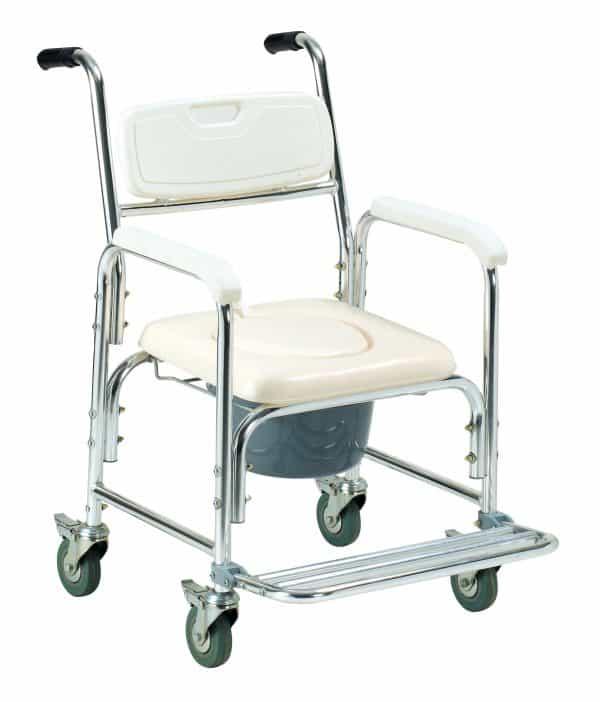 """Soft Seat כסא רחצה ושירותים אלומיניום 45 ס""""מ"""