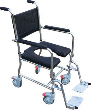 "Water Play כסא רחצה ושירותים נירוסטה רוחב 40 ס""מ"