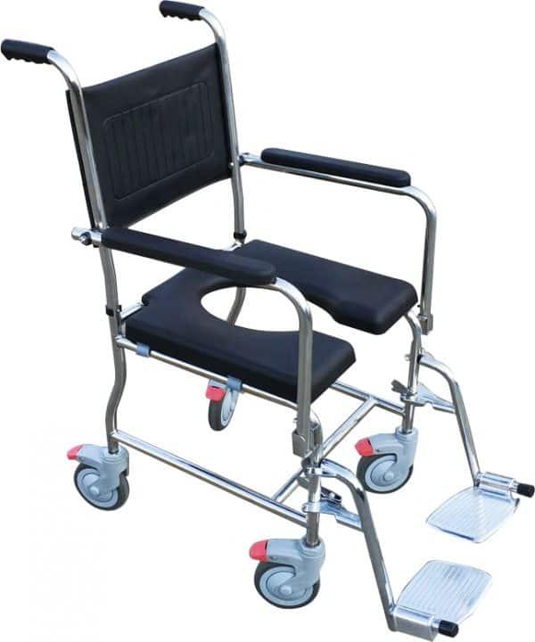 "Water Play כסא רחצה ושירותים נירוסטה רוחב 51 ס""מ"
