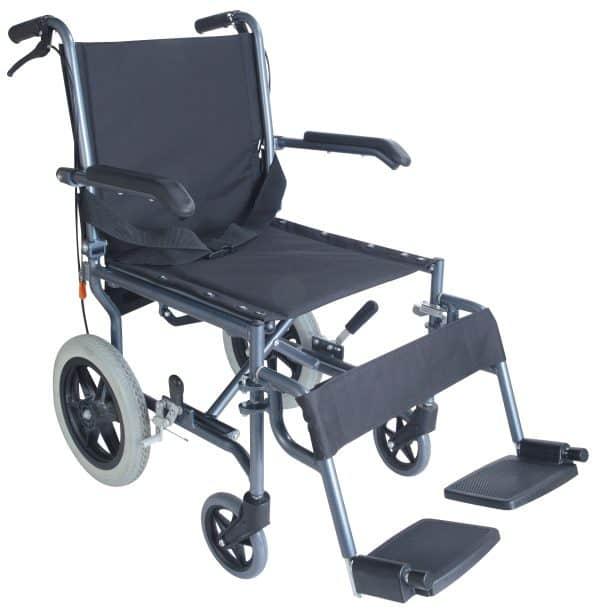 Lite Ride כסא גלגלים קל משקל עם מעצור יד למלווה