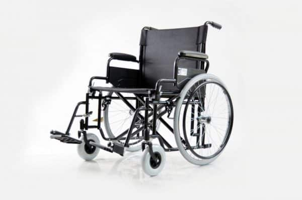 """כסא גלגלים מוסדי Basic רוחב 61 ס""""מ עד 180 קילוגרם"""