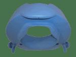 """הגבהה לאסלה רכה 10 ס""""מ חיבור מהיר עד 250 קילוגרם TSE100S"""